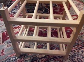 Wooden wine rack - new - £5