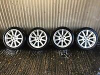 "Genuine 18"" Audi A4 Sport Alloy Wheels - 5x112 - Will fit VW, Skoda, Seat, A4, A5"