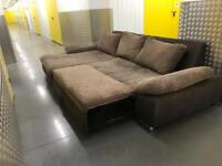 DFS L shape sofa bed, Free delivery