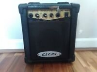Small guitar amplifier
