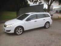 2008 DIESEL Vauxhall Astra 1.3 CDTi Estate 6 Speed Gearbox Silver Drives Great £1995