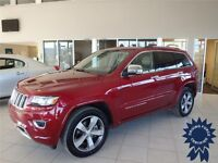 Red 2014 Jeep Grand Cherokee Overland - Price Recently Reduced Edmonton Edmonton Area Preview