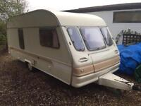 Caravan converted two sleep 6 people ideal for Glastonbury royal Welsh or any festival