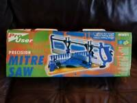 **BNIB** PRECISION MITRE SAW / CHOP SAW BRAND NEW IN BOX / NEVER USED