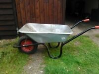 builder's wheel barrow £15