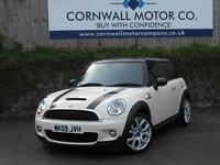MINI HATCH COOPER 1.6 COOPER S 3d 172 BHP £3.5K XTRAS INC CHIL (white) 2009