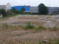 Large yard 40,000 square feet for Rent