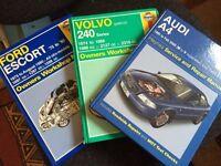 Haynes manuals - Great condition