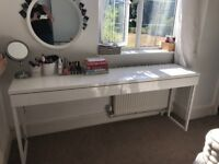 DISCONTINUED IKEA DRESSING TABLE DESK EXTRA LONG NOT MALM EXCELLENT CONDITION QUALITY