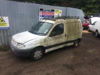 breaking for spares citroen berlingo 1.9 diesel v reg