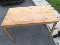 wooden table free delivery in liverpool