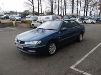 DIESEL!! 2003 03 PEUGEOT 406 2.0 RAPIER HDI 4d 89 BHP **** GUARANTEED FINANCE ****
