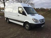 MERCEDES SPRINTER 313 CDI 2010 - MWB - 6 SPEED - AIR-CON - DRIVES PERFECTLY - NO VAT!!!!!!!!!!!!!!!!
