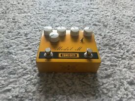 Guitar Effects Pedal - Tone City Fuxx Fuzz and Model M Marshall Dual Overdrive - Stompbox Pedals