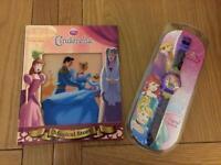 Girls brand new Disney book and watch birthday presents