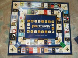 Pole Economy Board Game from 1980's
