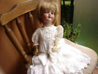 Antique Armand Marseille Bisque Doll---Good Condition