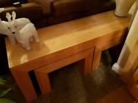 Long John nest of tables