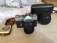 Zenit B SLR Camera & Exposure Meter
