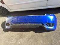 Ford Fiesta st mk5 performance blue rear bumper and trim