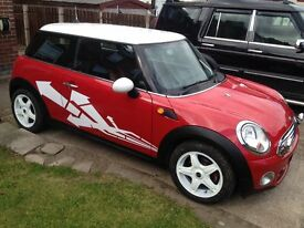 2008 MINI COOPER D, CHILLI PACK plus Sat. Nav. Near offers considered on price.