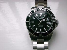 Marcello C Nettuno 3 automatic Diver's wristwatch- Swiss - Rolex Submariner homage - Eta 2824-2