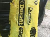 """Carpet underlay """"duralay durafit 650"""" 4 X 15 M2 rolls"""
