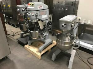 30 & 40 qrt dough mixers , Hobart mixer guarded $1200