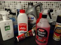 Car care bundle - cleaning and lubrication remnants