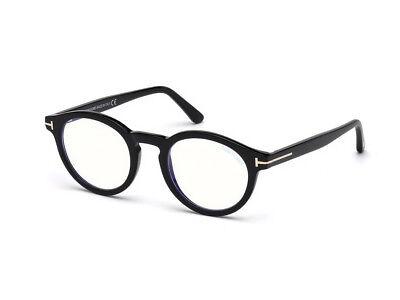 optische Brille Gestell Einstellbare TOM FORD FT5529-B schwarz 001
