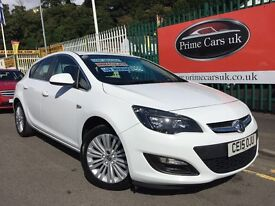 2015 15 Vauxhall Astra 1.4 i VVT 16v Excite 5 Door Petrol LOW LOW MILES! 1 OWNER!
