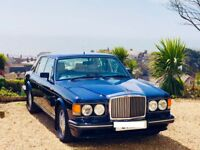 Bentley Turbo R in Blue with cream leather interior. Service History. Just had £15k spent. Stunning!