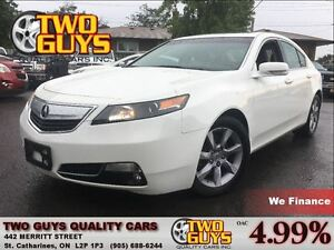 2013 Acura TL LEATHER| SUNROOF| FWD | ALLOYS