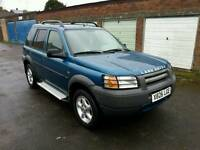 LEFT HAND DRIVE 4x4 LAND ROVER FREELANDER Not Part Exchange for Toyota, Honda LHD