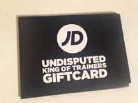 £55 Gift Card for JD, Scotts and 4 more Shops.