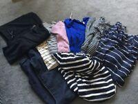 Maternity clothing size 10 bundle