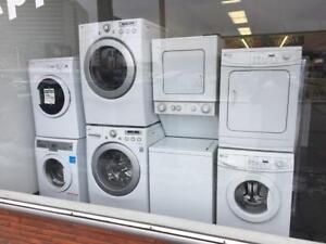 ECONOPLUS LIQUIDATION  WIDE SELECTION  FRONTLOAD STACKABLE 24 INCHES WASHER DRYER SET FROM 799.99$ TAXES INCLUDED