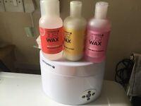 Salon professionals wax kit