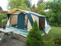Cabanon Antigua 5 berth canvas frame tent