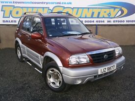 ***2005 Suzuki Grand Vitara 16V ** 4x4 ** SAME OWNER FROM 2007** 5 DOOR **( rav4 rav 4 jeep MPV )