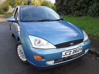 2001 Ford Focus Automatic 1.6 Ghia Saloon