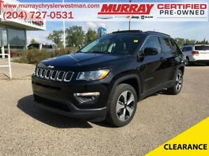 2017 Jeep Compass North 4WD *Navigation* *Backup Cam* *Heated Se