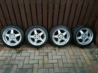 Lenso rs5 alloys 15 inch