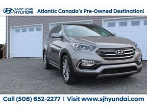 2017 Hyundai Santa Fe Sport LIMITED! NAV! SUNROOF! COOLED SEATS!
