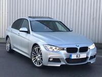 BMW 330D MSPORT AUTO XDRIVE /REDLEATHERS/SUNROOF/ALL EXTRAS