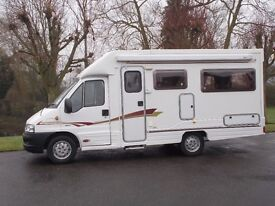 2004 AUTOCRUISE STARSPIRIT PEUGEOT BOXER 290 LX MWB HDI, 37,300 MILEAGE, EXCELLENT CONDITION
