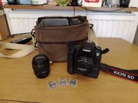 Canon EOS 6D including battery grip, Canon 50mm f1.4, Canon 85mm 1.8 & accessories