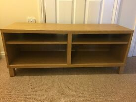 Oak effect TV stand £40