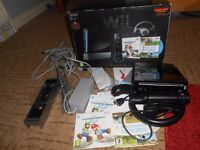 wii consol plus accessories [boxed]