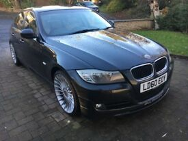 Bmw 320d full alpina conversion 60 reg facelift satnav Black